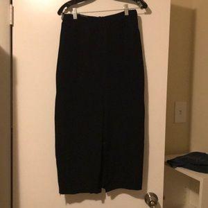 Saks jandel vintage straight skirt